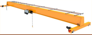 Ceiling crane are prepared for customers.