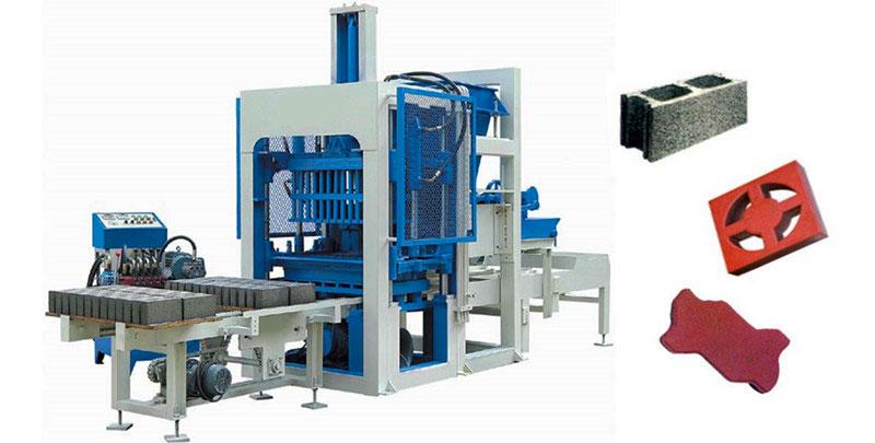QT12-15 interlocking brick making machine