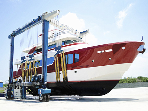100 ton quality marine travel lift